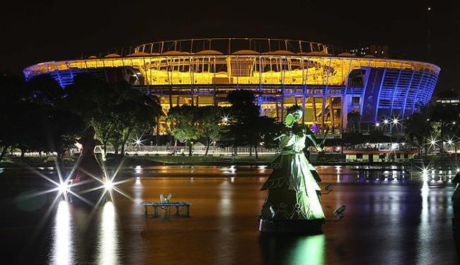 Nordestão terá partidas em quatro das 12 arenas do Mundial, como a Fonte Nova - Foto: Divulgação l BAPRESS