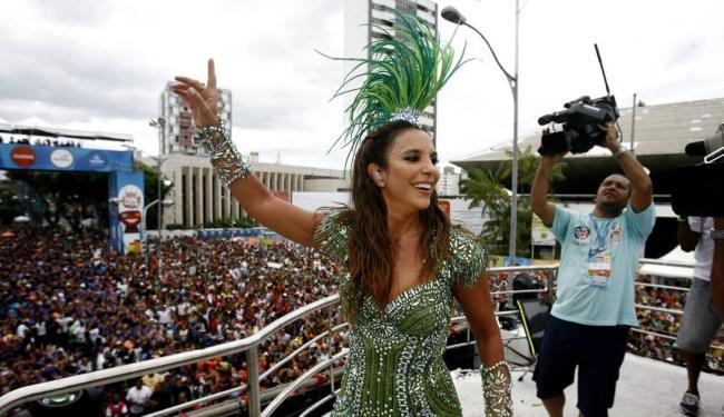 Ivete está programada para sair com o Coruja às 16h30 - Foto: Raul Spinassé   Ag. A TARDE