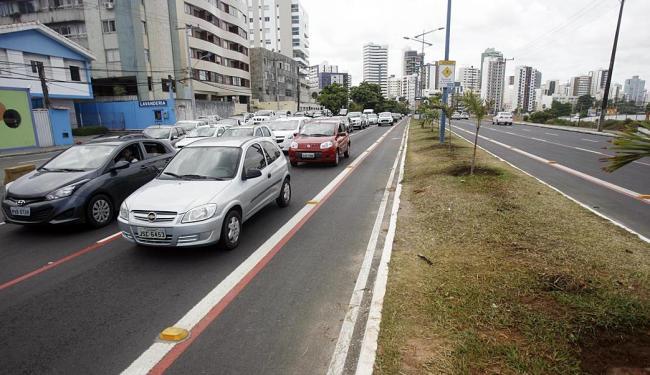 A interdição acontece até as 4h da sexta-feira - Foto: Raul Spinassé | Ag. A TARDE