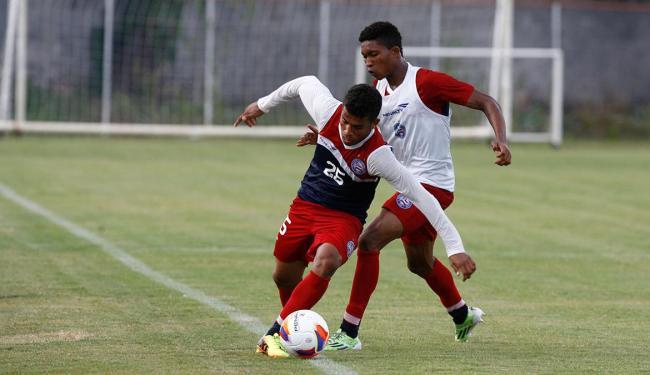 Bahia treina para quebrar invencibilidade de técnico do Jacobina diante do Tricolor - Foto: Fernando Amorim   Ag. A TARDE