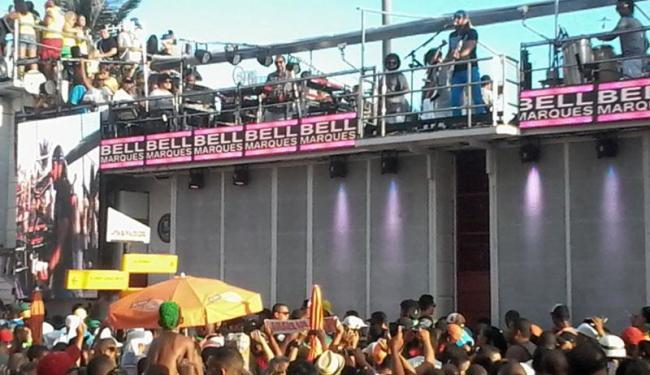 Bell comandou o Camaleão na Barra nesta segunda-feira - Foto: Bruno Porciuncula   Ag. A TARDE