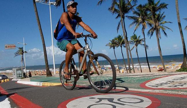 O bicicletário irá funcionar até o meio-dia da próxima Quarta-feira de Cinzas - Foto: Margarida Neide | Ag. A TARDE
