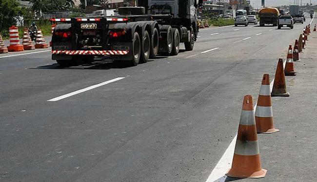Trecho estará sinalizado para orientar os motoristas - Foto: Marco Aurélio Martins   Ag. A TARDE
