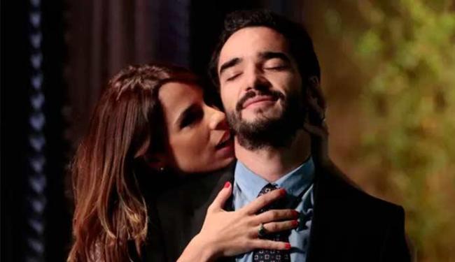 Maria Ribeiro e Caio Blat intepretam um ex-casal em Império - Foto: GShow | Divulgação