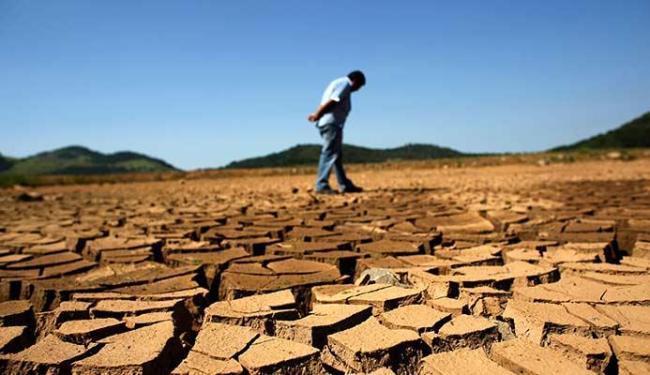 Seca é um dos fatores que contribui para o aumento da temperatura no planeta - Foto: Agência Reuters