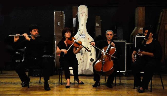 A camerata Quarteto Novo apresenta-se no Abrigo Mariana Magalhães - Foto: Mauricio Serra   Divulgação