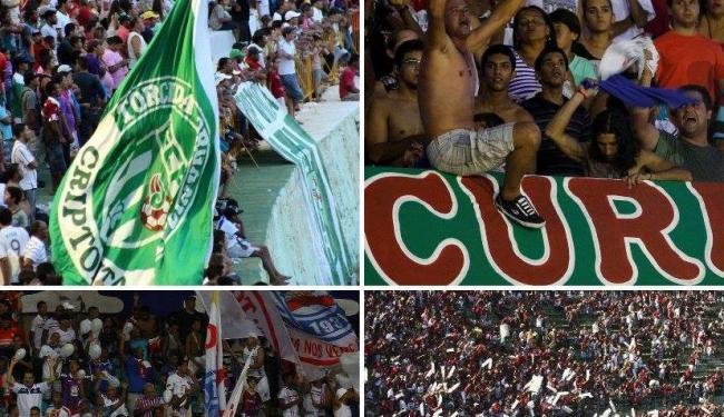 A rodada abre às 16h, com dois jogos, e termina às 18h30, em Salvador, com Vitória x Bahia de Feira - Foto: Montagem / Ag. A TARDE
