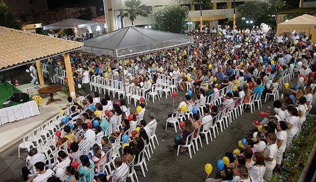 Culto inter-religioso e apresentações artísticas reuniram centenas de pessoas na sede da instituição - Foto: Margarida Neide l Ag. A TARDE