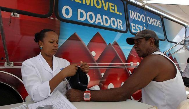 Ônibus da Hemoba ficará estacionado no piso G1 do Salvador Shopping até sexta,6, das 9h às 17h - Foto: Divulgação | Carla Ornelas/GOVBA