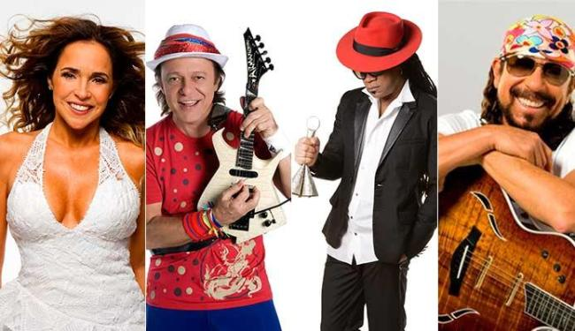 Daniela, Armandinho, Brown e Bell vão comandar ensaios no fim de semana - Foto: Divulgação