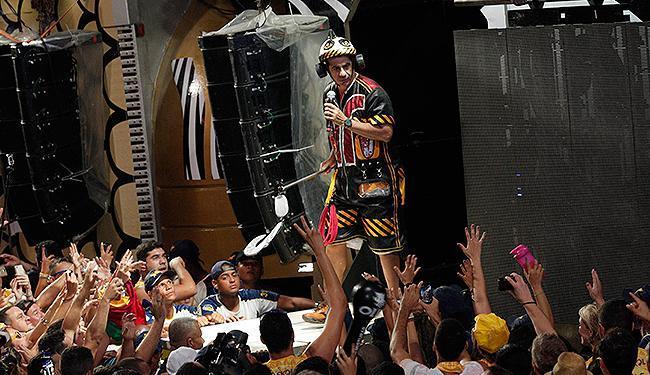 Cantor comandou banda Asa de Águia durante 26 anos - Foto: Margarida Neide l Ag. A TARDE