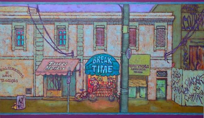 Exposição traz cores e paisagens urbanas aliada ao universo adolescente - Foto: Divulgação   Salmenron Comunicação