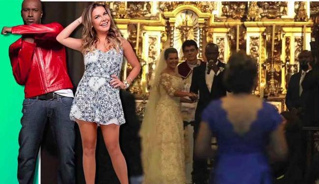 Casamento de Thiaguinho e Fernanda foi o principal acontecimento da semana - Foto: Reprodução