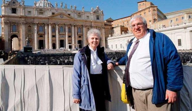 Grupo de lésbicas e gays católicos teve assentos especiais - Foto: Agência Reuters