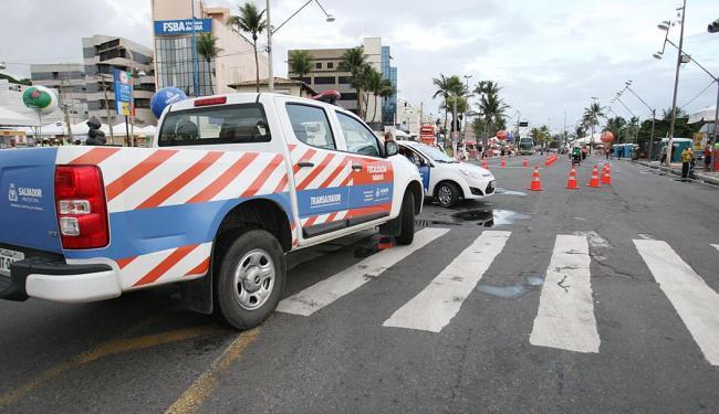 Circuito Dodô (Barra-Ondina) terá 29 bloqueios móveis - Foto: Adilton Venegeroles | Ag. A TARDE | 27.2.2014