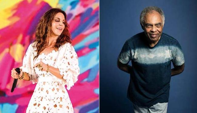 Ivete e Gil confirmaram presença no Sarau du Brown - Foto: André Possato | Daryan Dornelles - Divulgação