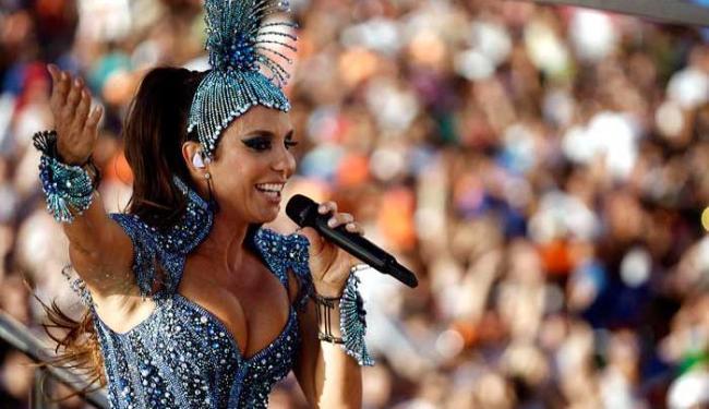 Ivete Sangalo vai desfilar a partir de 9h - Foto: Raul Spinassé | Ag. A TARDE