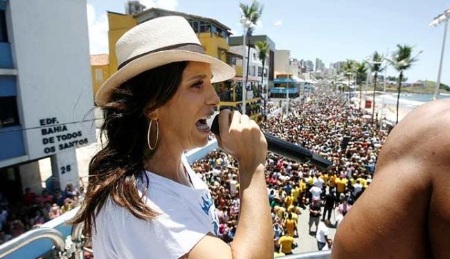 Ivete Sangalo arrasta uma multidão na quarta-feira de Cinzas - Foto: Raul Spinassé | Ag. A TARDE