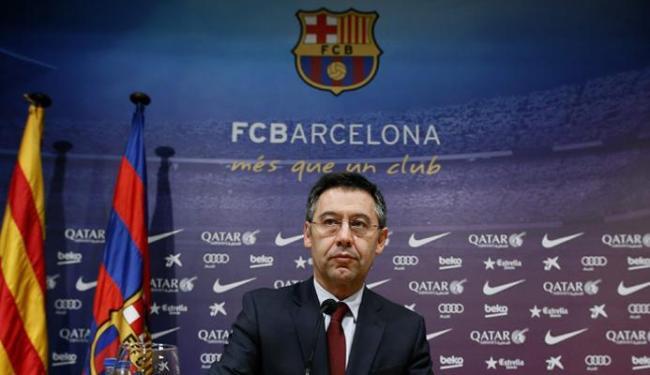 O Ministério Público da Espanha denunciou Bartomeu por uma fraude milionária - Foto: Albert Gea | Ag. Reuters