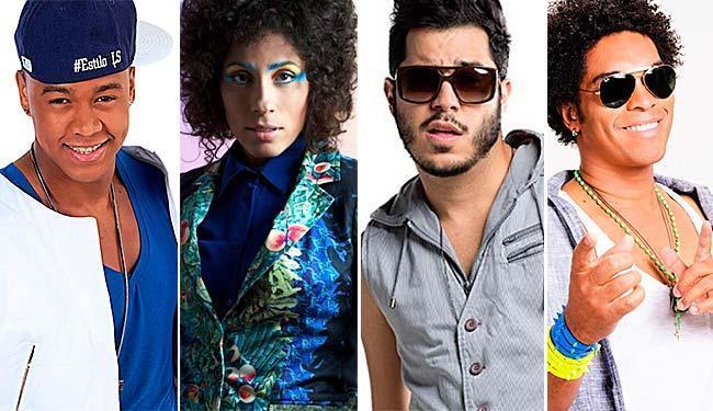 Leo Santana, Marcia Castro, Tomate e Denny são atrações do fim de semana - Foto: Divulgação