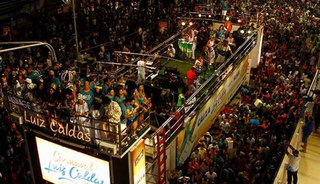 Luiz Caldas foi a primeira atração do Carnaval de Salvador - Foto: Eduardo Martins | Ag. A TARDE