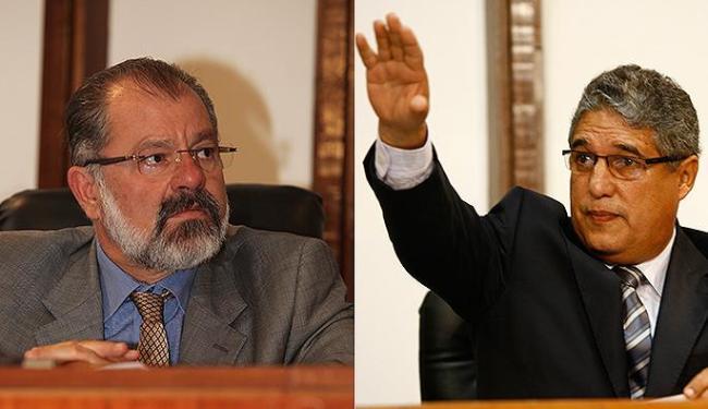 Marcelo Nilo (PDT) ameaçou romper com petistas; Deputado Rosemberg Pinto (PT) questionou eleição - Foto: Edilson Lima e Xando Pereira   Ag. A TARDE