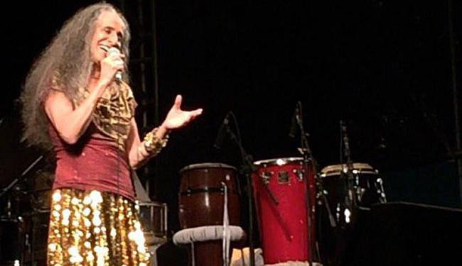Cantora sempre participa da festa da Purificação, em Santo Amaro - Foto: Divulgação