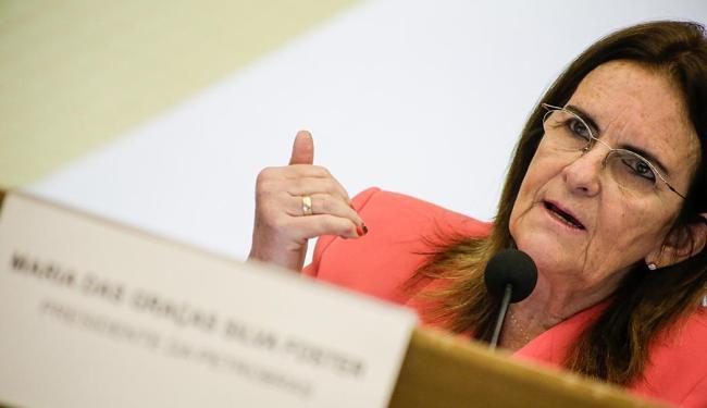 Graça Foster ficou reunida por 2 horas com Dilma - Foto: Rudy Trindade | Frame/Folhapress