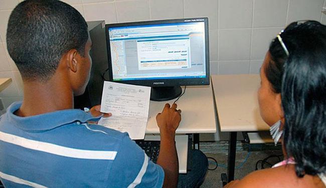 Estudantes da rede podem realizar o procedimento pela internet - Foto: Divulgação