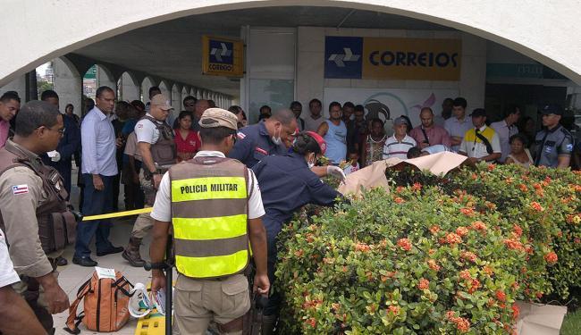 Síndico escorregou enquanto acompanhava trabalhadores em obra - Foto: Cláudio Cassiano | Ag. A TARDE