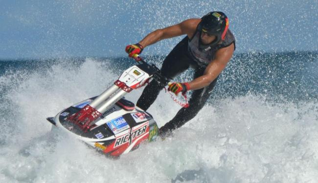 Bruno Jacob, bicampeão internacional de Freeride Jet Ski - Foto: Pedro Ramalho