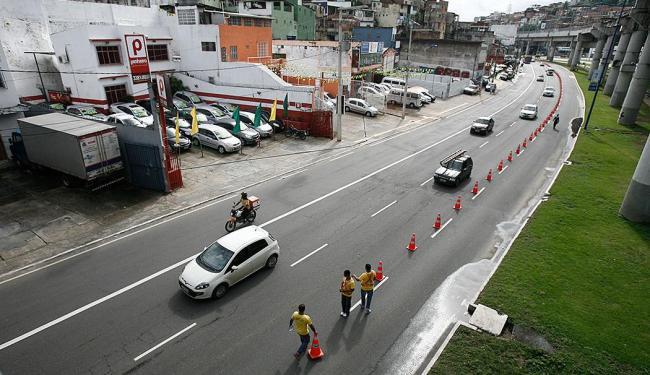 Medida foi tomada para realização de obras do metrô de Salvador - Foto: Luciano da Matta | Ag. A TARDE