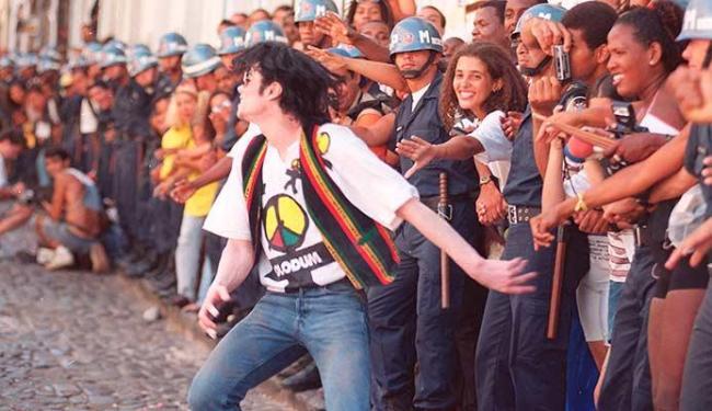 Encontro do Olodum com Michael Jackson será lembrado na mostra - Foto: Wilson Besnosik   Ag. A TARDE