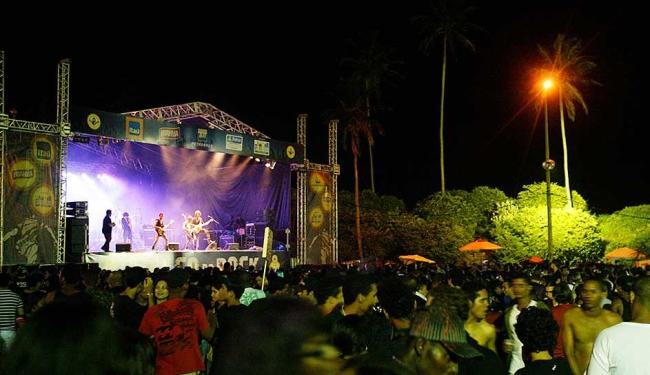 Palco do Rock é a única alternativa para o público que não curte o Carnaval - Foto: Luciano Carcará | Arquivo A TARDE