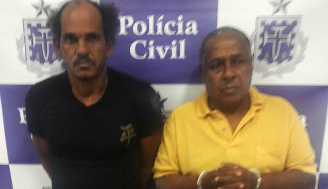 Receptadores foram presos em São Sebastião do Passé. - Foto: Ascom   Polícia Civil
