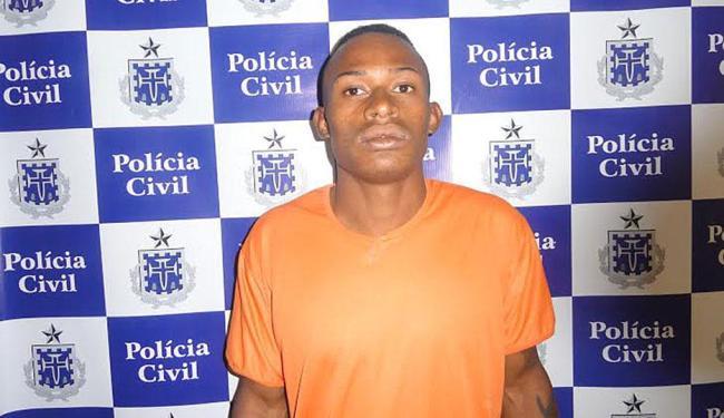 Leudemar estava foragido da delegacia de Simões Filho desde junho de 2014 - Foto: Divulgação | Polícia Civil