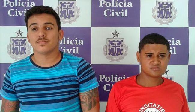Dupla foi presa na última quinta, 12, e apresentada pela polícia à imprensa nesta sexta, 13 - Foto: Divulgação | Polícia Civil