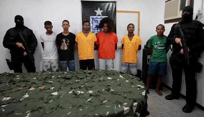 Criminosos foram presos na última quarta, 11, em menos de 24h após o sequestro da vítima - Foto: Divulgação | Polícia Civil