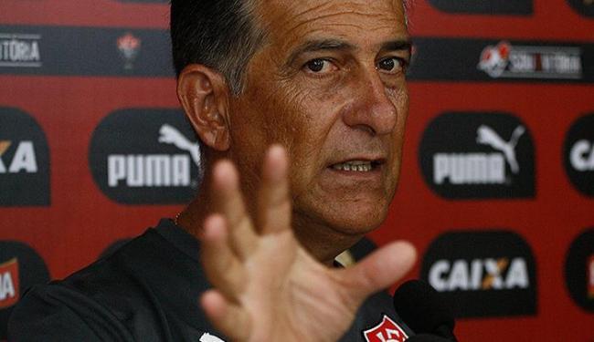 Apesar do empate, técnico do Rubro-negro afirmou que o jogo funcionou - Foto: Fernando Amorim l Ag. A TARDE