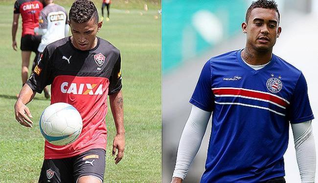 Titular, Rogério retorna após lesão; Recuperado, Douglas volta a ser opção - Foto: Edilson Lima l Ag. A TARDE e Felipe Oliveira l EC Bahia