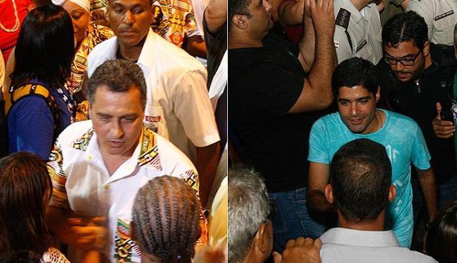 Rui chegou exatamente no mesmo momento que Neto no Ilê - Foto: Marco Aurélio Martins | Ag. A TARDE