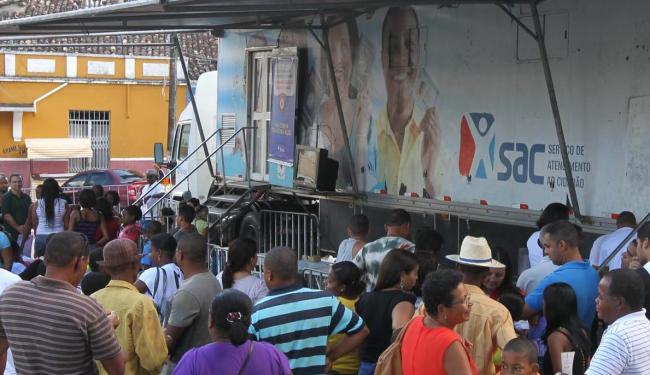 Caminhão do serviço estará nos bairros do Cabula e da Ribeira e em Camaçari em fevereiro - Foto: Divulgação   Manu Dias/GOVBA