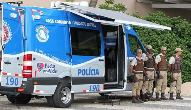 Um total de 23.732 policiais irão atuar em Salvador e mais 23 cidades do interior do estado - Foto: Manu Dias | GOVBA