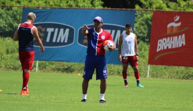 Soares pode testar substitutos para Raul e Railan, que foram expulsos contra o Conquista - Foto: Divulgação | E.C.Bahia