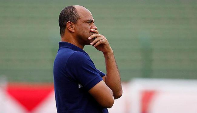 Treinador não atribui falhas à zaga na derrota para a Jacuipense - Foto: Eduardo Martins | Ag. A TARDE