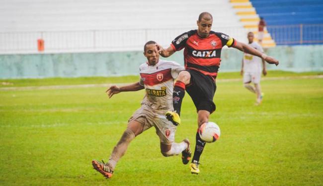 Jorge Wagner (D) marcou o primeiro gol para o Vitória - Foto: Jéssica Santana   Ag. A TARDE