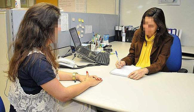 Função de auxiliar de escritório corresponde a estágio e tem 10 vagas disponíveis - Foto: Erik Salles | Ag. A TARDE