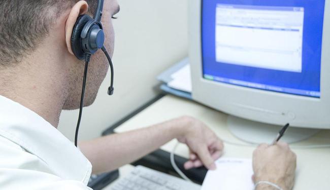 Função de operador de telemarketing possui o maior número de ofertas, com 80 vagas - Foto: Divulgação | CREA