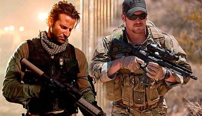 'Sniper Americano', de Clint Eastwood, foi indicado para o Oscar em seis categorias - Foto: Divulgação