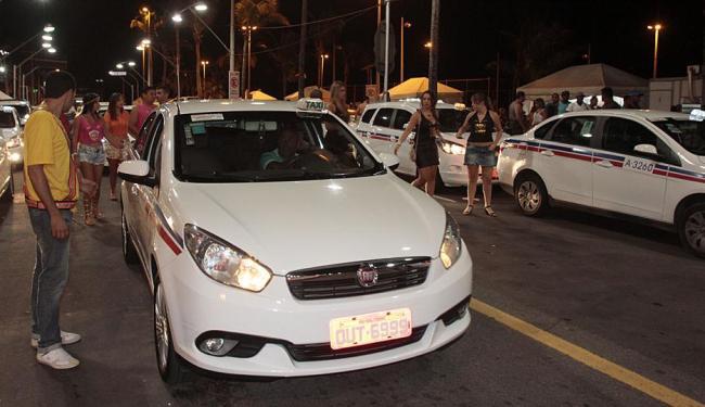 Disputa por táxis nos circuitos foi grande - Foto: Edilson Lima | Ag. A TARDE